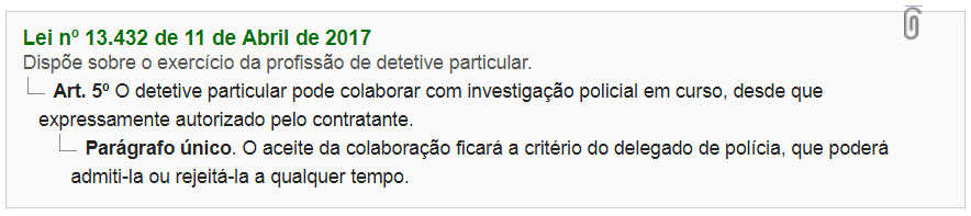 lei do curso de documentoscopia forense